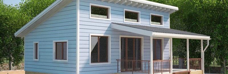 Односкатная крыша: планируем и строим своими руками