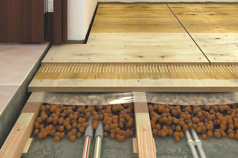 полы по бетонному основанию