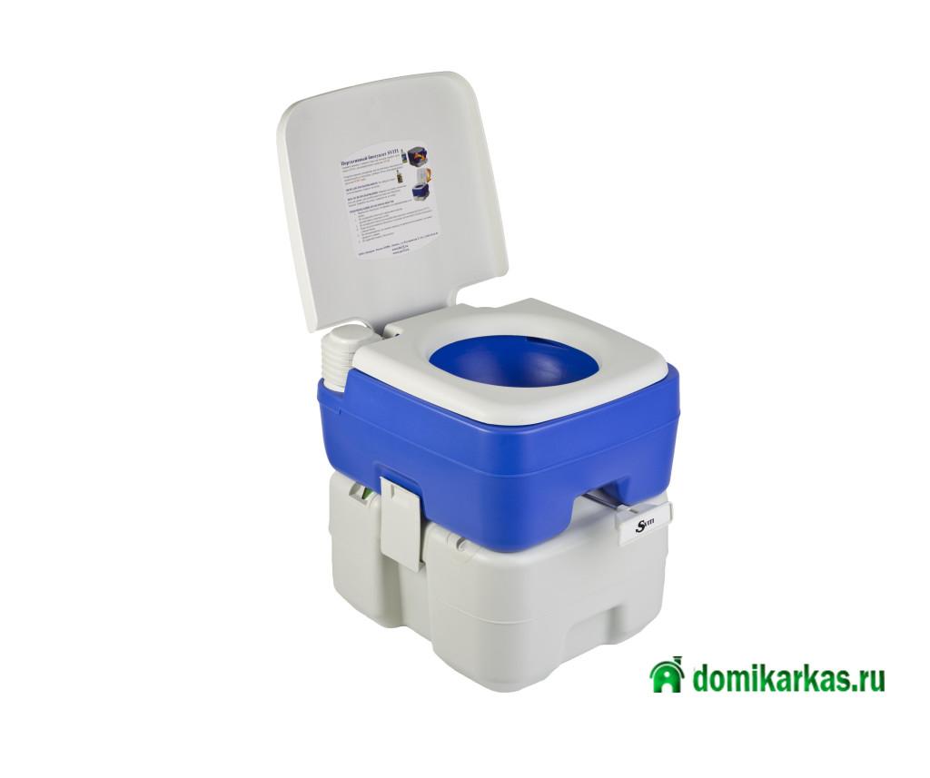 дачный туалет-ведро