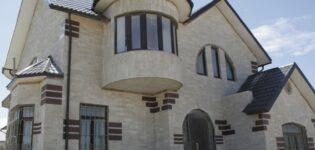 Облицовка фасада дома камнем: защита стены и декорация