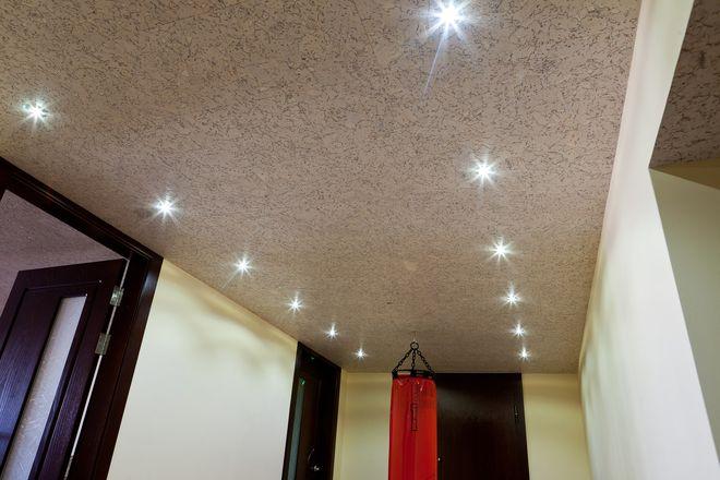 Пробковый потолок фото в коридоре