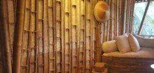 Отделка бамбуком стен — направление в дизайне помещений