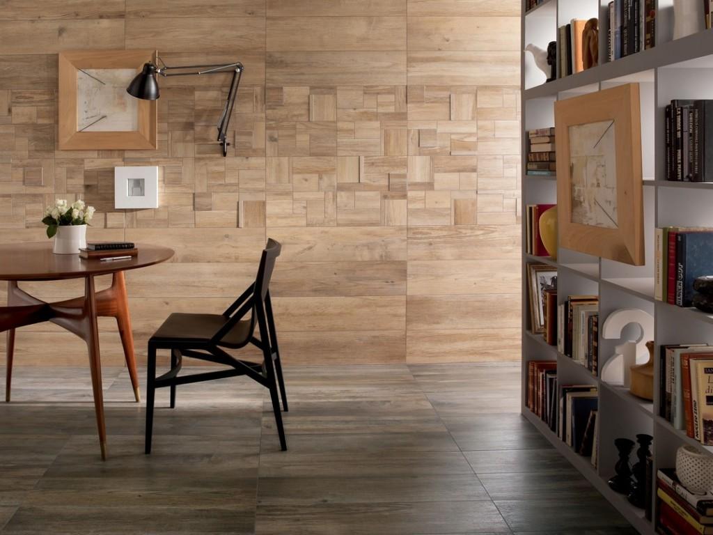 Стены из керамической плитки