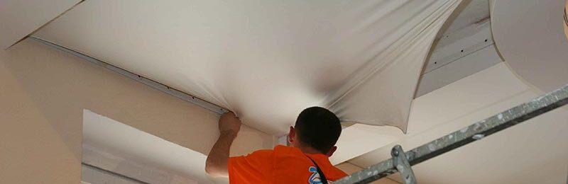 Как снять натяжной потолок самостоятельно?