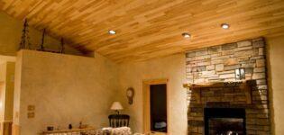 Укладка ламината на потолок