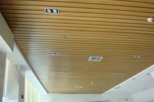 Панельный потолок на лоджии