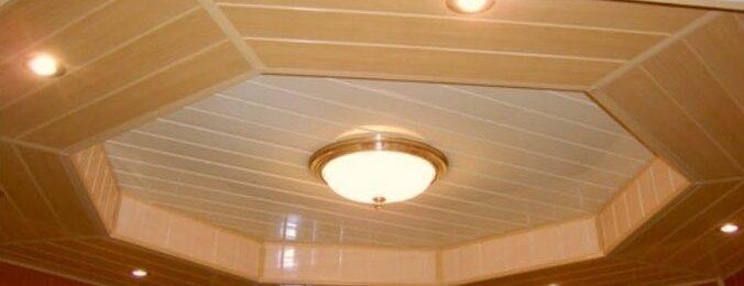 Панельный потолок для дома — оптимальное решение при отделке
