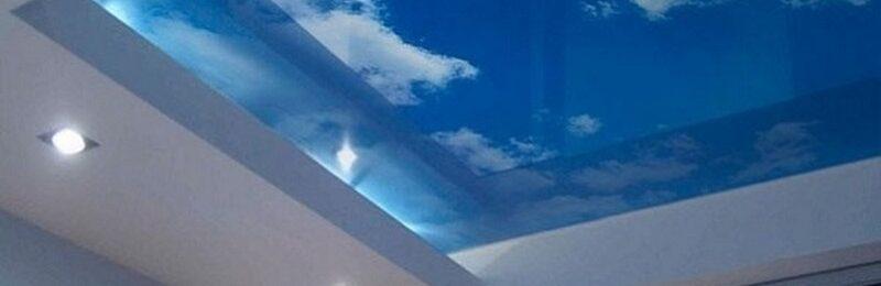 Виды и особенности стеклянного потолка