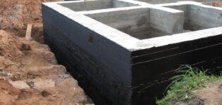 Устройство горизонтальной гидроизоляции фундаментов