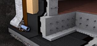 Гидроизоляция фундамента — важный элемент долговечности дома