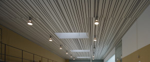 Французский потолок с полосами