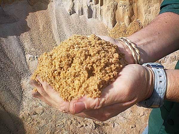 определяем качество строительного песка