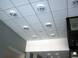 Точечные светильники для потолка Армстронг