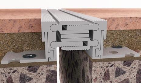 Деформационные швы серии DEFLEX 426/ALRV из металла