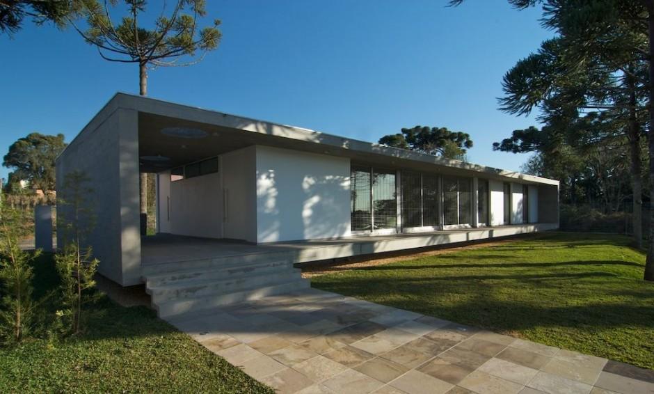 Фасад дома в стиле модерн фото 8
