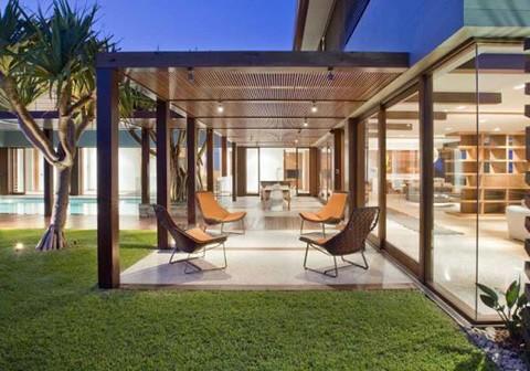Фасад дома в стиле модерн фото 2