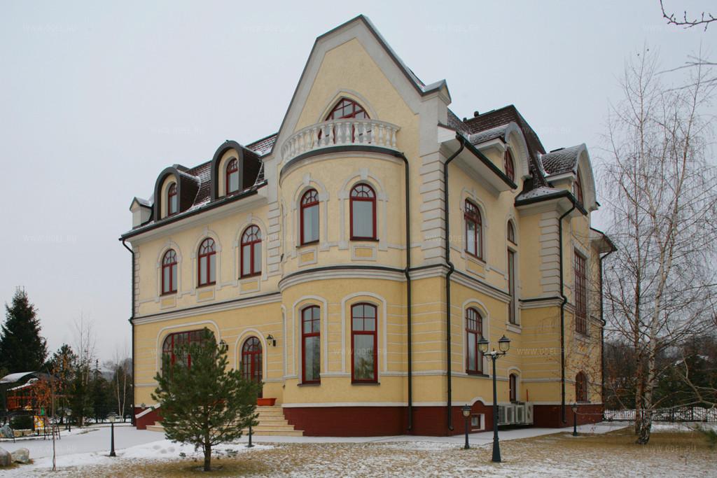 классический стиль фасада дома