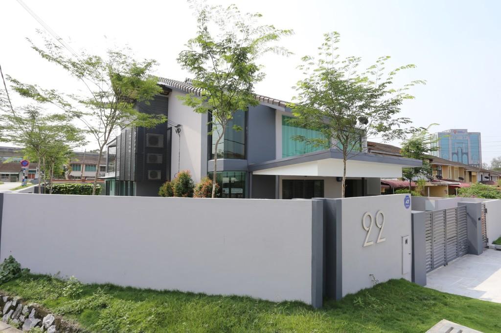 скандинавский стиль фасада дома
