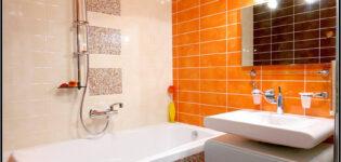 Что такое недорогой ремонт в ванной комнате и туалете
