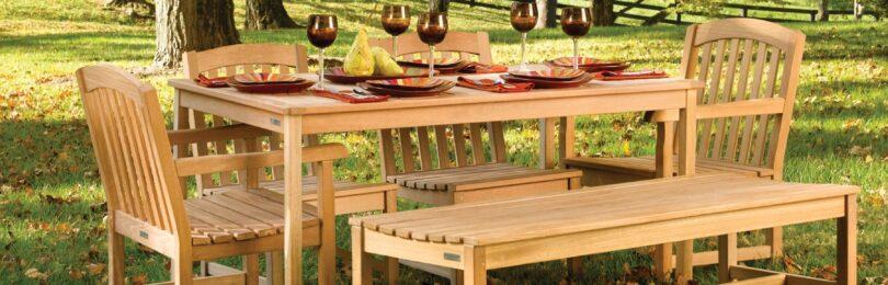 Садовые кресла и скамейки в ландшафтном дизайне загородного участка