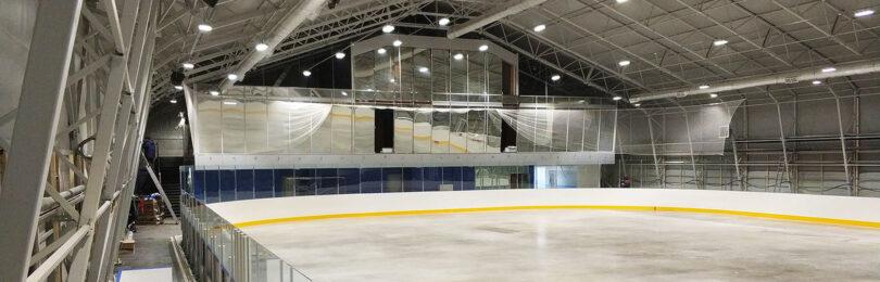 Строительство катков и спортивных быстровозводимых зданий