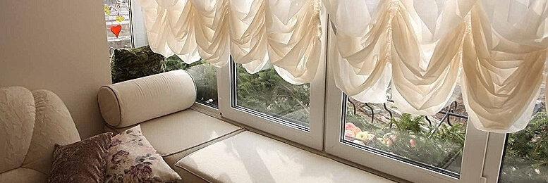 Австрийские шторы как предмет украшения интерьера