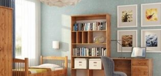 Солидный детский шкаф из массива дерева – роскошь или практичность?