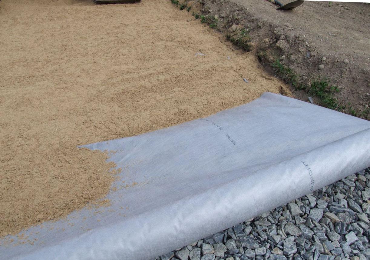 Использование геотекстиля для организации дорожек на дачном участке