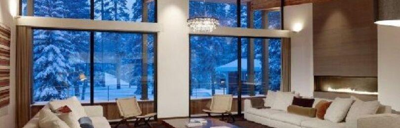 Большие окна в интерьере открывают массу возможностей