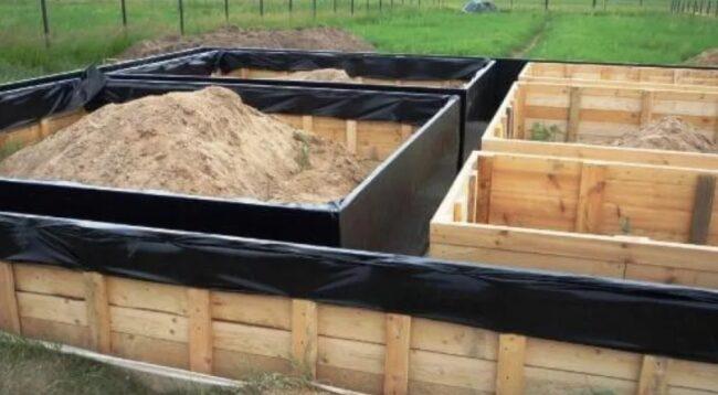 гидроизоляция опалубки под фундамент