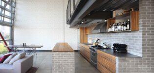 Как оформить кухню в стиле лофт