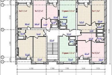 Конструкция и планировка многоквартирного дома