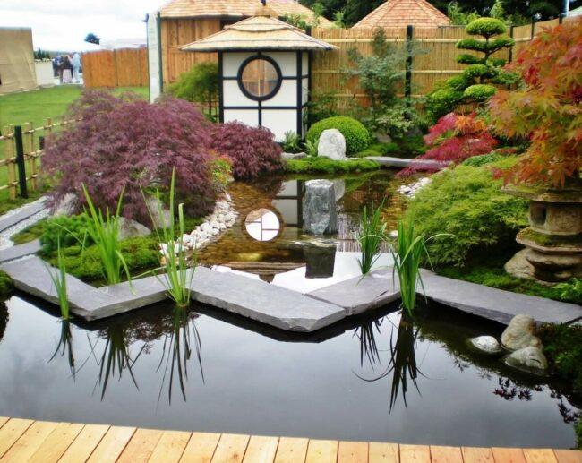 Японский сад на участке