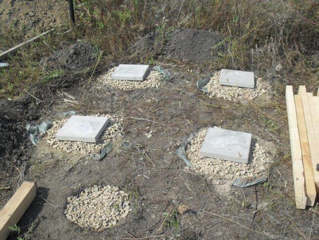 Делаем фундамент для дачного туалета