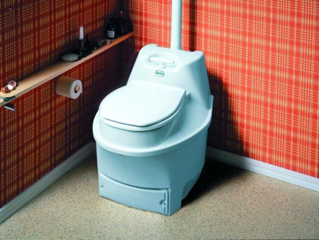 Электрический туалет для дачи