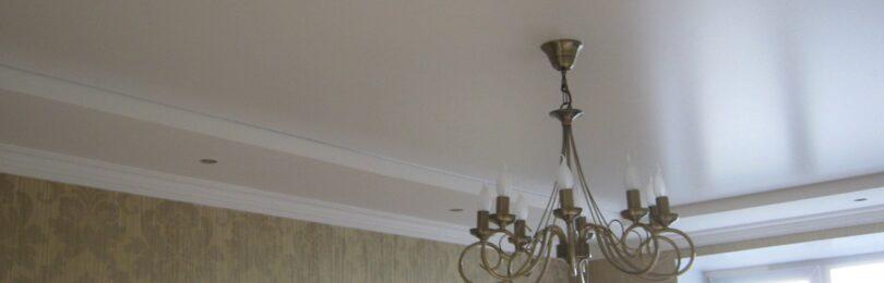 Сатиновые натяжные потолки – есть ли смысл выбирать этот вариант и где их лучше устанавливать