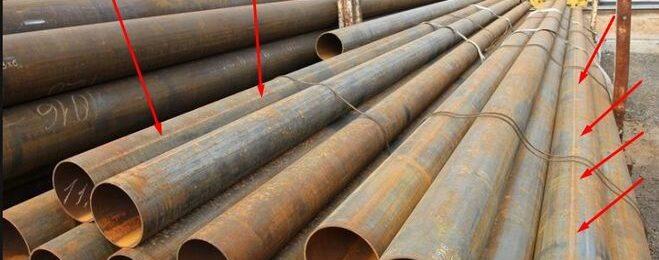 Электросварные и бесшовные стальные трубы