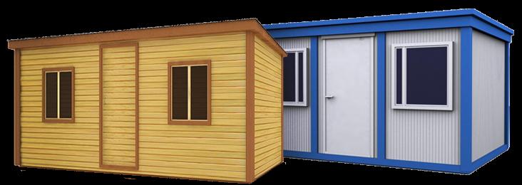 Сравнение блок-контейнера и бытовки