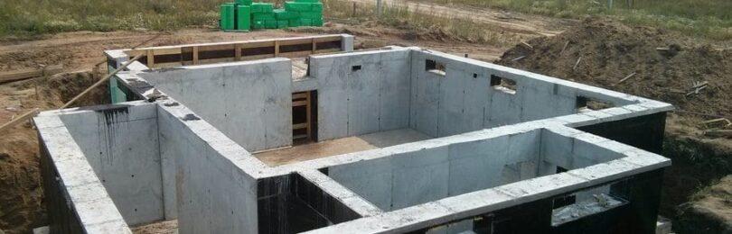 Фундаменты в домах, имеющих подвалы