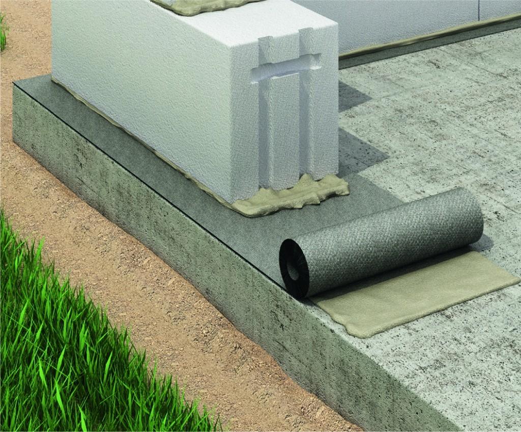 материалы для гидроизоляции фундамента технониколь