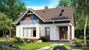 Проекты каркасных домов до 100 кв м