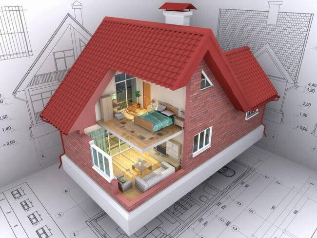 проектирование жилого дома