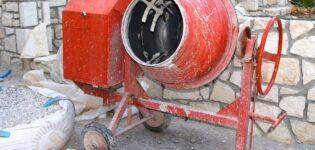 Как мыть бетономешалку правильно