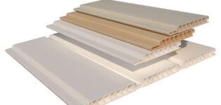 Размеры пластиковых панелей из ПВХ