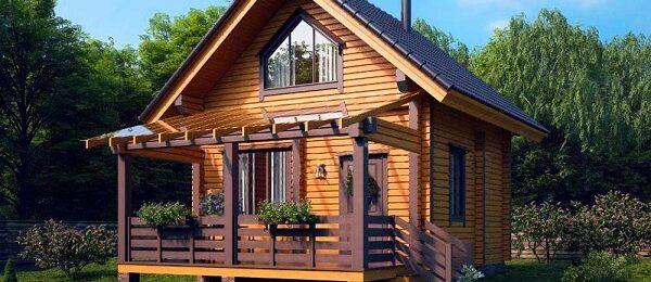 Основные особенности и преимущества маленьких домов из бруса