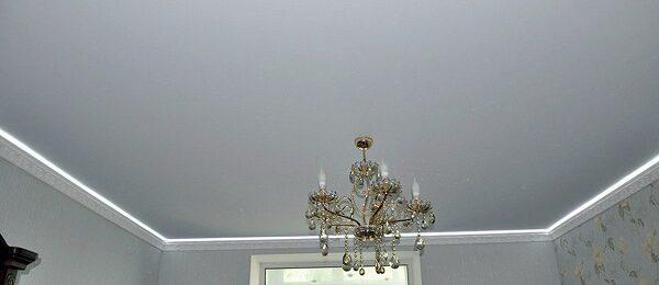 Натяжные потолки — идеальный вариант для отделки потолка