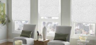 Как правильно определить размеры рулонных штор?