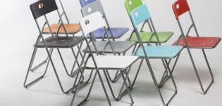 Виды раскладных стульев и их использование