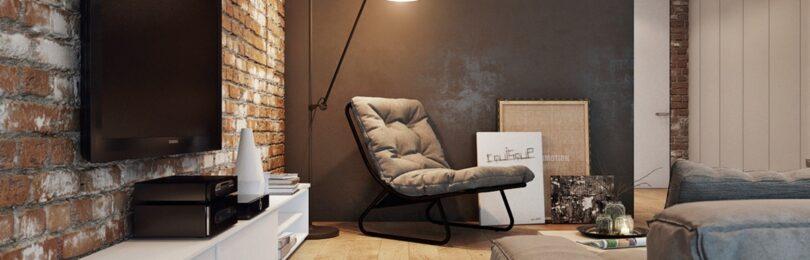 Сделай стиль лофт завершенным, благодаря мебели!