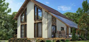 Проекты для одноэтажных домов из СИП панелей
